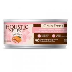 Holistic Select Cat canned food (Salmon & Shrimp) 160gm