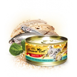 Fussie Cat Gold Series : Chicken with Anchovies formula in gravy 80gm