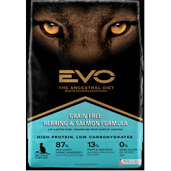 Evo Grain Free Herring & Salmon Cat Food (7kg)
