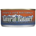 Natural Balance Chicken & Liver Pate Formula Canned Cat Food (0.17kg)