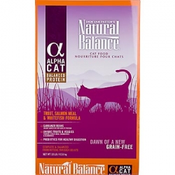 Natural Balance Alpha Cat - Trout, Salmon Meal, Whitefish Cat Food (2.27kg)