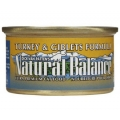 Natural Balance Turkey & Giblets Formula Canned Cat Food (0.17kg)