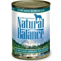 Natural Balance Chicken Formula Canned Dog Food (0.37kg)
