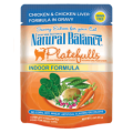 Natural Balance Platefulls Indoor Formula Chicken & Chicken Liver in Gravy (0.085kg)