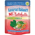 Natural Balance Platefulls Indoor Formula Salmon, Tuna, Chicken & Shrimp in Gravy (0.085kg)