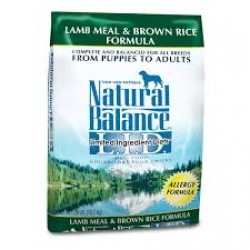 Natural Balance Lamb Meal & Brown Rice Formula (6.8kg)