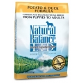Natural Balance Potato & Duck Formula (6.8kg)