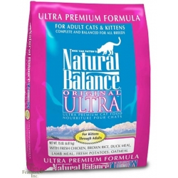 Natural Balance Ultra Premium Formula Cat Food (6.8kg)