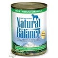 Natural Balance Vegetarian Formula Canned Dog Food (0.37kg)