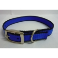 Pet Collar Nylon (Blue)