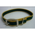 Pet Collar Nylon (Green)