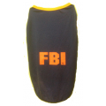T-Shirt: FBI black Jersey