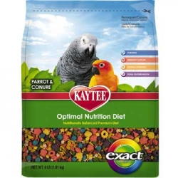 Kaytee Exact Rainbow Premium Daily Nutrition for Parrots & Conures (1.13kg)