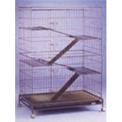 3 Tiered Cat Cage - C335RI