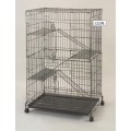 Pet Cage C232RI (Black/White)