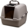 Catit Jumbo Hooded Cat Litter Pan - WHITE