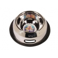 Dogit Stainless Steel Non-Spill Dog Dish, Small, 500ml (16 fl oz)