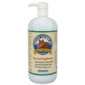 Grizzly Salmon Oil All-Natural Dog Food Supplement in Pump-Bottle Dispenser (4 oz)