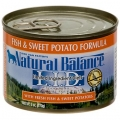 Natural Balance Fish & Sweet Potato Formula Canned Dog Food (0.37kg)