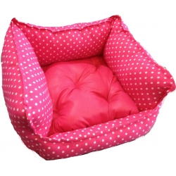 Polka Dot Cushion Bed (Medium)
