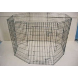 "Playpen with door - 48"" high"