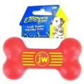 JW Tough Rubber Squeak Bone