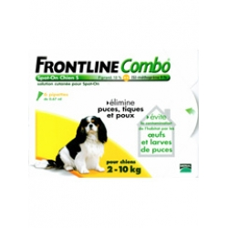 Frontline Spot-On Combo Dogs (S)