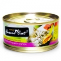 Fussie Cat Premium Tuna with Chicken 80gm