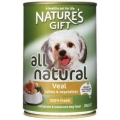Nature's Gift Turkey & Veal (380g)