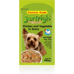 Jerhigh Pouch Chicken and Vegetable in Gravy 150g