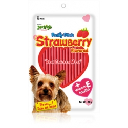 Jerhigh Strawberry Soft Snack 80g